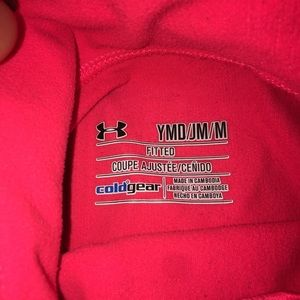 Under Armor Youth cold gear long sleeve mock neck